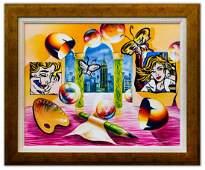"Alexander Astahov- Original Oil on Canvas ""New York"
