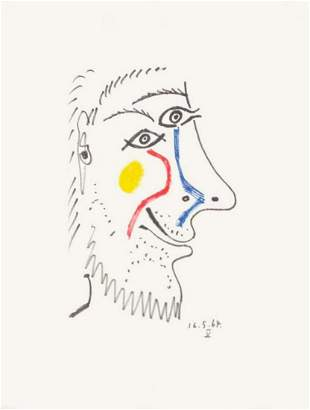 """Pablo Picasso- Lithograph """"Le Gout du Bonheur 12"""""""