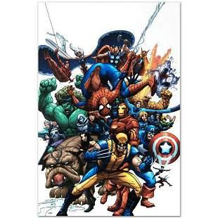 """Marvel Comics """"Marvel Team Up #1"""" Numbered Limited"""