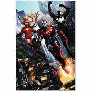 "Marvel Comics ""Ms. Marvel #44"" Numbered Limited Edition"