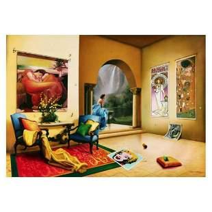 "Orlando Quevedo, ""Secret Garden"" Limited Edition on"