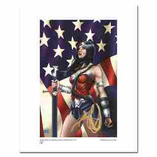 """""""Wonder Woman Patriotic"""" Numbered Limited Edition"""