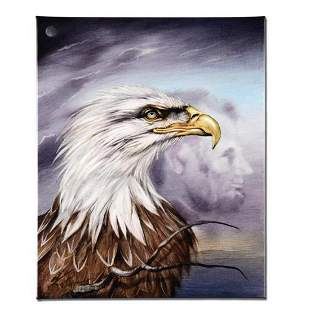 """""""Regal Eagle"""" Limited Edition Giclee on Canvas by"""