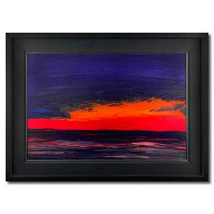 """Wyland, """"Red Sea Waters"""" Hand Signed Original Painting"""
