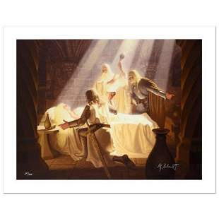 """The Healing Of Eowyn"" Limited Edition Giclee on Canvas"