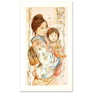 """Children's Day"" Limited Edition Serigraph by Edna"