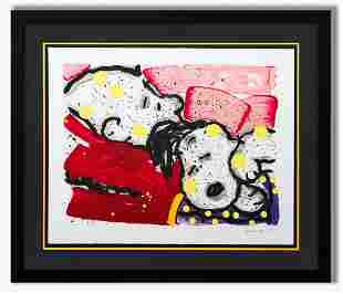 "Tom Everhart- Hand Pulled Original Lithograph ""Mello"