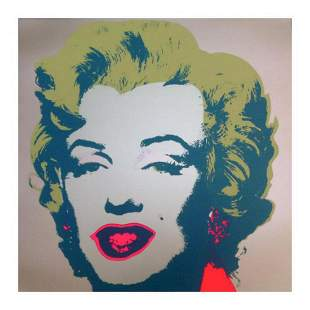 "Andy Warhol ""Marilyn 11.26"" Silk Screen Print from"