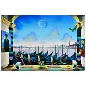 "Ferjo, ""Masters Overlooking"" Original Painting on"