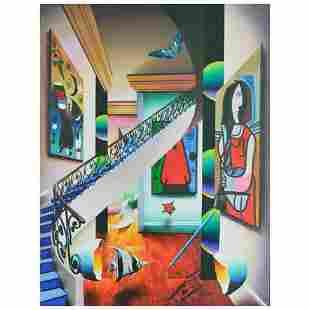 "Ferjo, ""Beautiful Scene"" Original Painting on Canvas,"