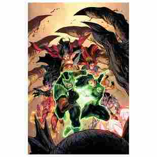 """DC Comics, """"Green Lanterns #15"""" Numbered Limited"""