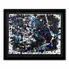 "Wyland, ""WAK-070609-C"" Framed Original Watercolor"