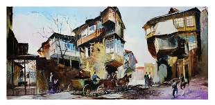 "Shalva Phachoshvili- Original Oil on Canvas ""Morning"""