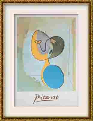 "Pablo Picasso- Lithograph on Arches Paper ""Figure"