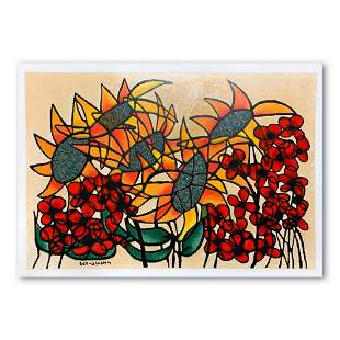 Ben Simhon, Hand Signed Limited Edition Serigraph on