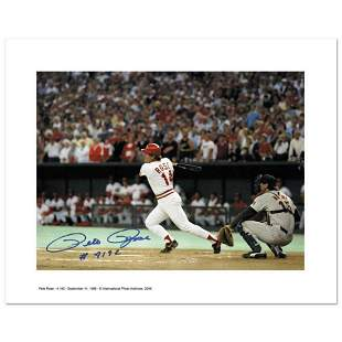 """""""Pete Rose 4192"""" Archival Photograph Featuring Pete"""