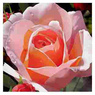 """Brian Davis, """"Morning Rose"""" Limited Edition Giclee on"""