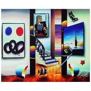 "Ferjo, ""Calming Effect"" Original Painting on Canvas,"