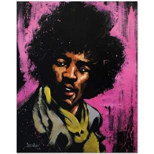 """Jimi Hendrix (Purple Haze)"" Limited Edition Giclee on"