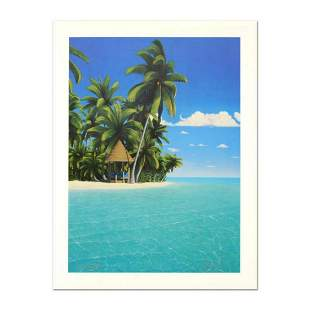 "Dan Mackin, ""The Cabana"" Limited Edition Lithograph,"