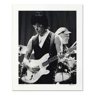 """Rob Shanahan, """"Jeff Beck"""" Hand Signed Limited Edition"""