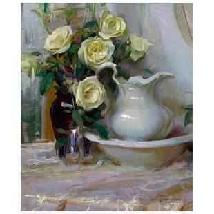 """Dan Gerhartz, """"French Lace"""" Limited Edition on Canvas,"""
