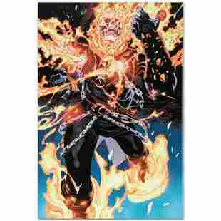 """Marvel Comics """"Ghost Rider #28"""" Numbered Limited"""