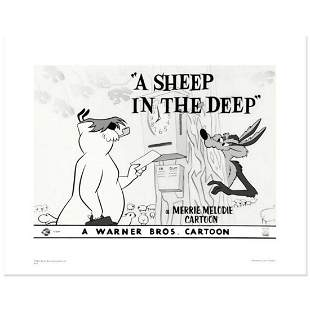 """""""A Sheep In the Deep"""" Limited Edition Giclee from"""