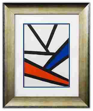 "Alexander Calder- Lithograph ""DLM173 - Composition III"""