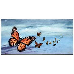 """""""Monarch Migration"""" Limited Edition Giclee on Canvas by"""