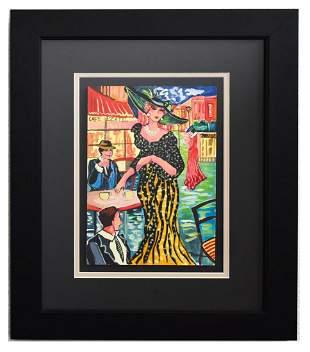 "Patricia Govezensky- Original Watercolor ""Champs"