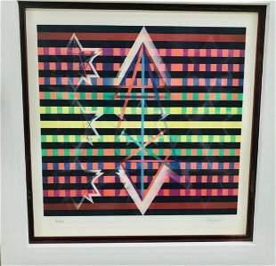 YAACOV AGAM Agamograph