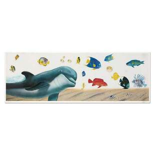 """Wyland, """"Underwater Paradise"""" Limited Edition"""