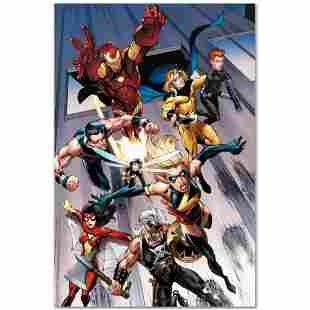 """Marvel Comics """"The Mighty Avengers #7"""" Numbered Limited"""