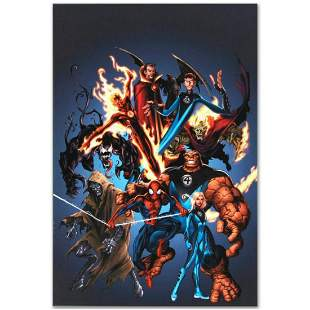 """Marvel Comics """"The Official Handbook of the Marvel"""