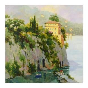 "Marilyn Simandle, ""Amalfi"" Limited Edition on Canvas,"