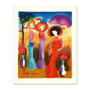 Moshe Leider, Limited Edition Serigraph, Numbered and