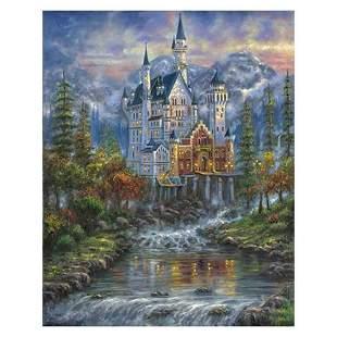"""Robert Finale, """"Autumn Mist Neusch"""" Hand Signed, Artist"""