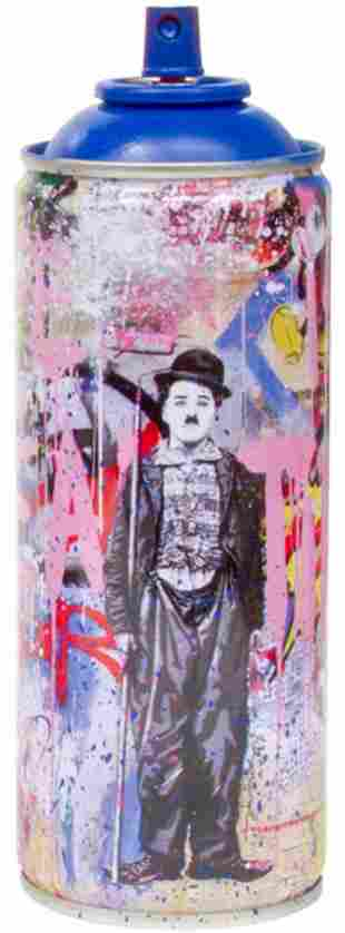 "Mr. Brainwash- SPRAY CAN ""GOLD RUSH, 2020"""