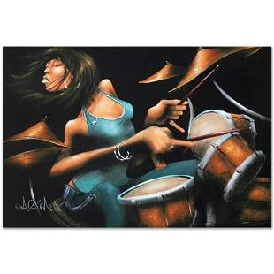 """Lola Beats"" Limited Edition Giclee on Canvas by David"
