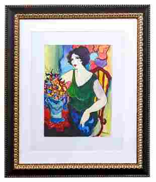"Patricia Govezensky- Original Watercolor ""Camille"""