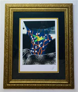 Erte Hand signed and numbered serigraph