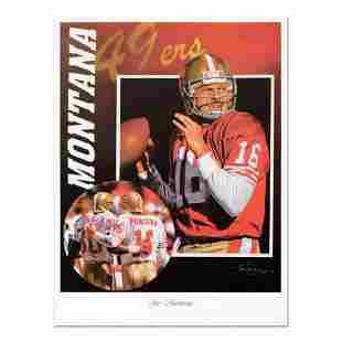 """Tim Cortes - """"Glory Days"""" Collectible Poster Featuring"""