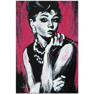 """Audrey Hepburn (Fabulous)"" Limited Edition Giclee on"