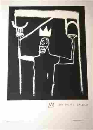 Jean-Michel Basquiat Original  lithograph on paper