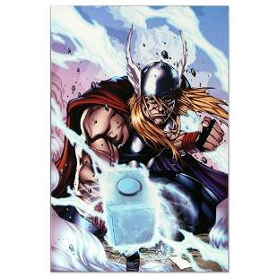 "Marvel Comics ""Thor: Heaven and Earth #3"" Numbered"