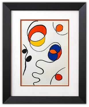 "Alexander Calder- Lithograph ""DLM173 - Composition II"""
