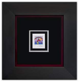 """Peter Max- Original Lithograph """"Cosmin Jumper Detail I"""