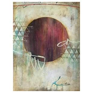 "John Milan, ""Circle of Trust II"" Hand Signed Original"