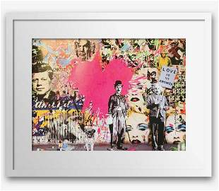 Mr. Brainwash- Original Offset Lithograph on Paper